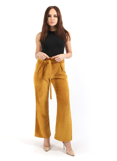 Sense Pantolon Sarı